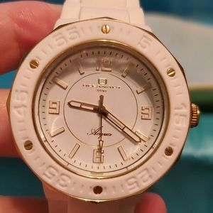 "Womens Oceanaut Sport 8"" White Watch"